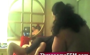 Black Guy Shacking up Three Fat Matured Lesbos - threesomeffm.com
