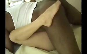 Sexy swinger wife can't live without fat black cock coupled with creampie