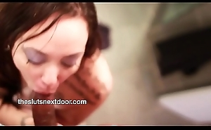 Krista Lust giving a Oral-sex