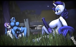 Sweetie Looker &_ Trixie also without Rarity