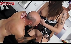 Italian Maid Hardcore fucked in her first porn players