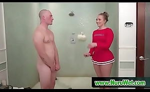 AJ Applegate &_ Zac Wild soapy shower