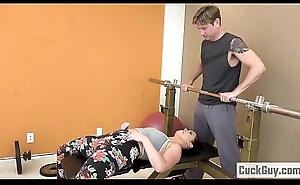 Cheating Wife Drilled by Her Gym Trainer