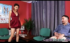 Cfnm glam oriental shows retire from