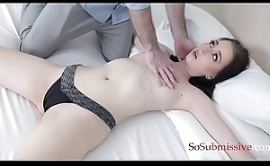 WIfe'_s gift in SEX ADDICT Tighten one's belt is Bambi Black
