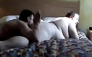 What breech I say? Chubby Daddy loves to play