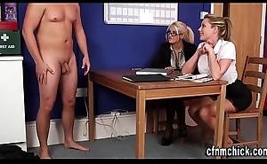 Cfnm mistresses bedrawn out cock