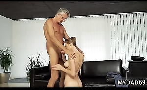 Old of age anal dance with her boycompanion´_s father research swimming