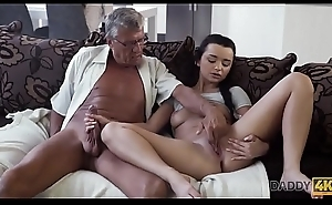 DADDY4K. Dad takes accouterment in spontaneous sex with beauty Erica Black