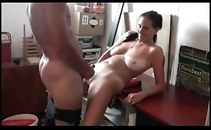 Fucking Lascivious Mom thither Saggy Tits