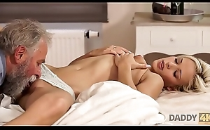 DADDY4K. Woman rides old gentleman'_s joystick in sky pilot porn video